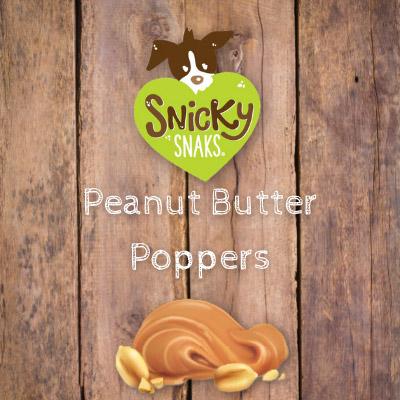 Snicky Snaks Peanut Butter Poppers Bulk