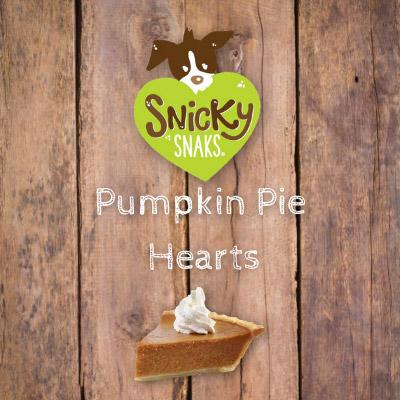 Snicky Snaks Pumpkin Pie Hearts Bulk