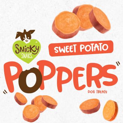 Treat Planet Snicky Snaks Sweet Potato Poppers